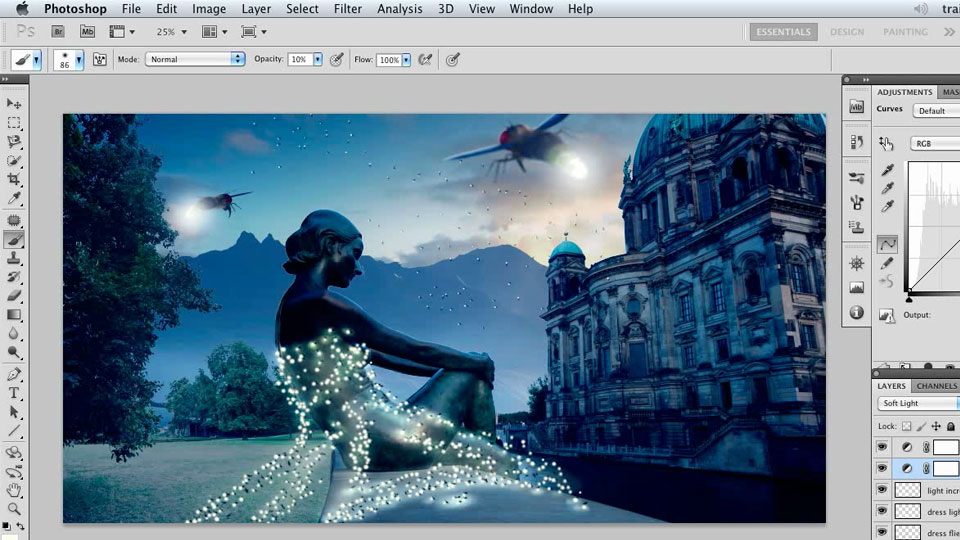 Photoshop Artist in Action: Uli Staiger's Atlantis course image