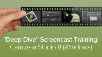 Deep Dive Screencast Training: Camtasia Studio 8 (Windows) course image