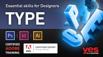 Essential Skills for Designers - Working with Type course image