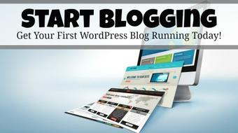 Start Blogging:  Your First WordPress Blog Setup Today  course image