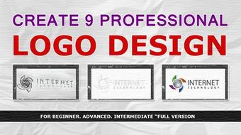 create 9 professional logo design full version course image