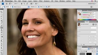 Photoshop CS4 Portrait Retouching Essential Training course image