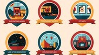 Intro to Graphic Design: Illustrating Badges and Icons with Geometric Shapes course image