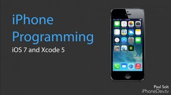 iPhone App Programming for iOS7 – Create a real iOS app course image