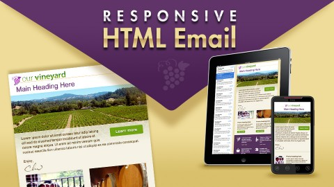 Creating a Responsive HTML Email course image