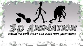 3D Animation: Basics To Full Body and Creature Mechanics course image