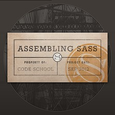 Assembling Sass Part 2 course image
