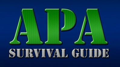APA Survival Guide course image
