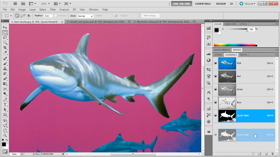 Photoshop Masking and Compositing: Fundamentals course image