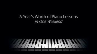 A Year's Worth of Piano Lessons in One Weekend course image