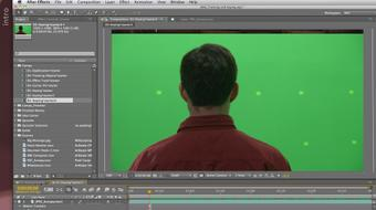 After Effects Apprentice 12: Tracking and Keying course image