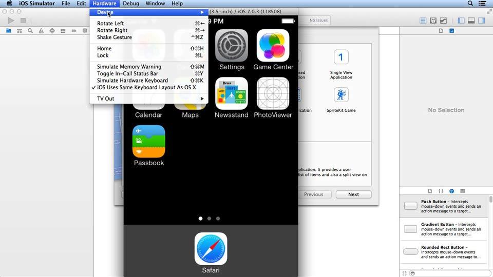 iOS App Development Essential Training course image
