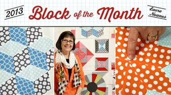 Craftsy Block of the Month 2013 course image