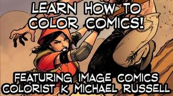 Comic Book Coloring Basics course image