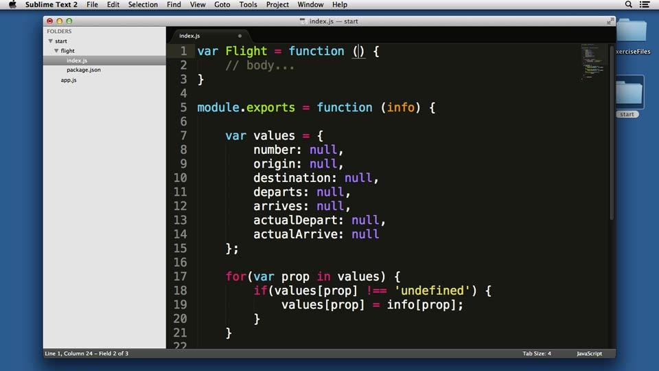 Node.js Essential Training course image