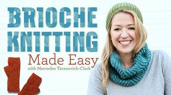 Brioche Knitting Made Easy course image