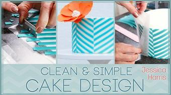 Clean & Simple Cake Design course image