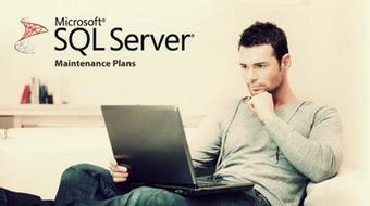 SQL Server Maintenance Plans course image