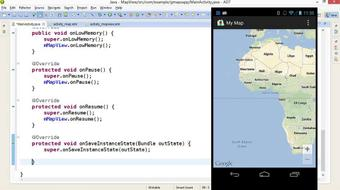 Building Mobile Apps with Google Maps Android API v2 course image