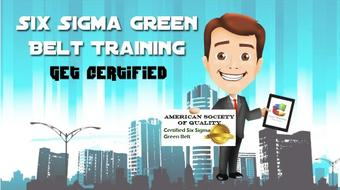 Six Sigma Green Belt Training and Certification course image