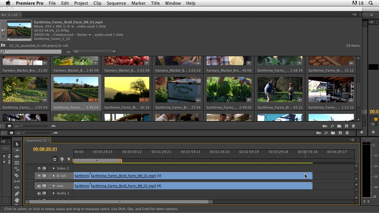 Documentary Editing with Premiere Pro course image