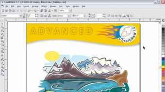 CorelDRAW 12 Beyond the Basics course image