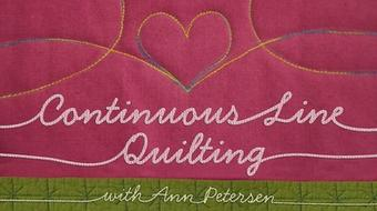 Continuous Line Quilting course image