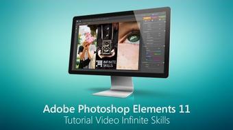 Adobe Photoshop Elements 11 Tutorial Video - Infinite Skills course image