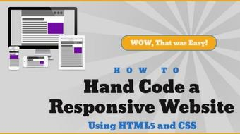 Code a Responsive Website Using HTML5 and CSS for Beginners course image