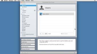 Mac OS X Lion Server Essential Training course image