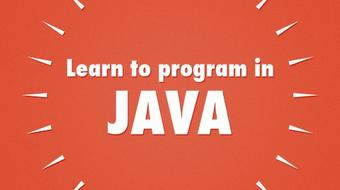 Learn to program in Java course image