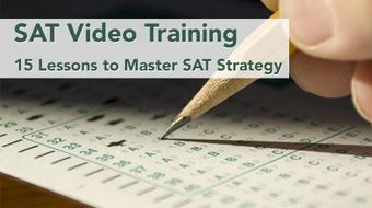 SAT Video Training: 15 Lessons to Master SAT Strategy course image