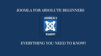 The Fastest And Easiest Way To Learn Joomla 3 For Beginners course image