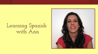 Learning Spanish with Ana 1 course image