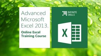Microsoft Excel 2013  Advanced. Online Excel Training Course course image