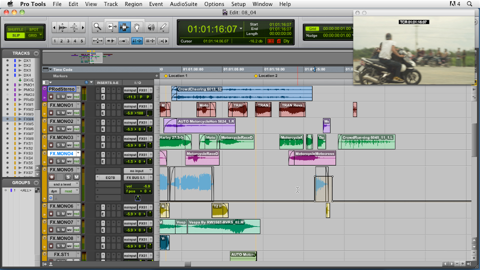 Lynda audio for film and video with pro tools student reviews.