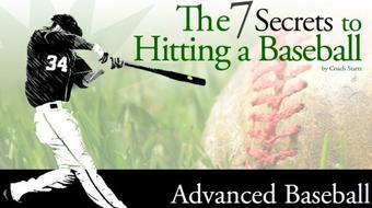 Seven Secrets to Hitting a Baseball course image