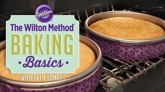 The Wilton Method®: Baking Basics course image