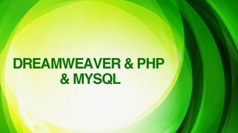 Dreamweaver + PHP + MySQL course image