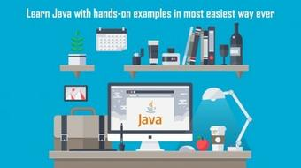 Learn Java with hands-on examples - Completely from Scratch course image