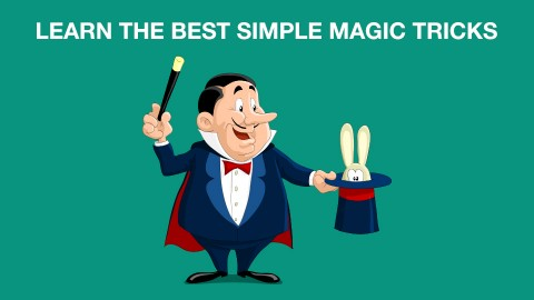 Become an instant magician with the best Simple Magic Tricks course image