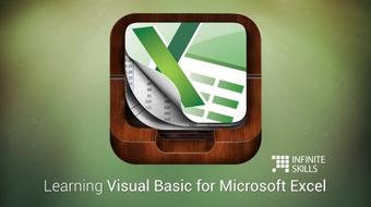 Visual Basic for Excel - Microsoft VBA Excel Tutorial course image
