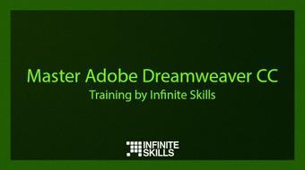 Master Adobe Dreamweaver CC. Training by Infinite Skills course image