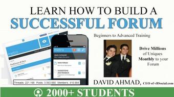 Build a Successful Forum from Scratch course image