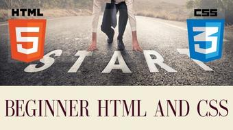 Beginner HTML and CSS course image