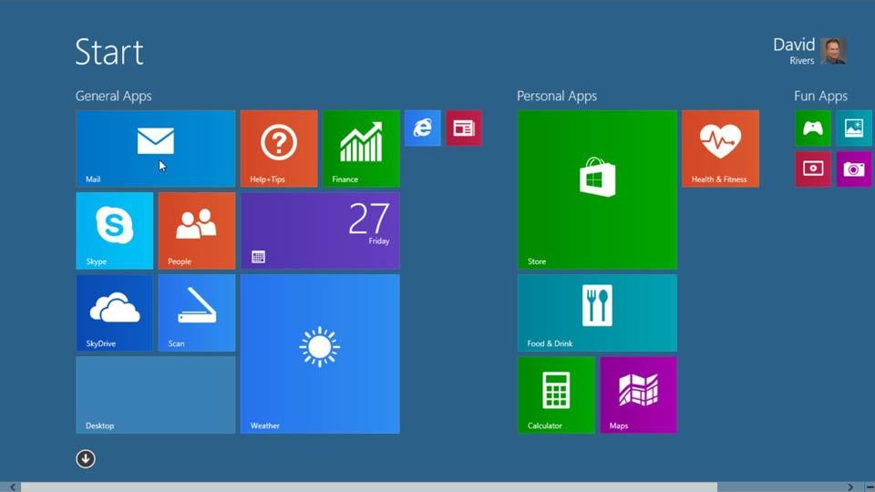 Windows 8.1 Essential Training course image