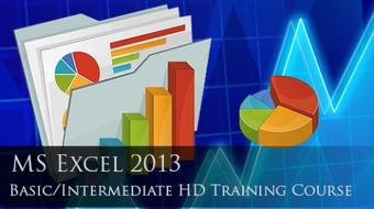 MS Excel 2013 Basic-Intermediate Certified Training course image
