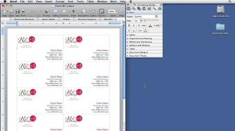 Office 2008 for Mac: Small Business Projects course image