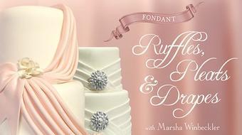 Fondant Ruffles, Pleats & Drapes course image