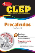 CLEP® Precalculus w/CD course image